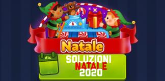 NATALE 2020 4 immagini 1 parola NATALE- Soluzione Dicembre 2020